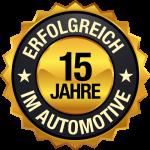 15 Jahre Erfolgreich im Automotive